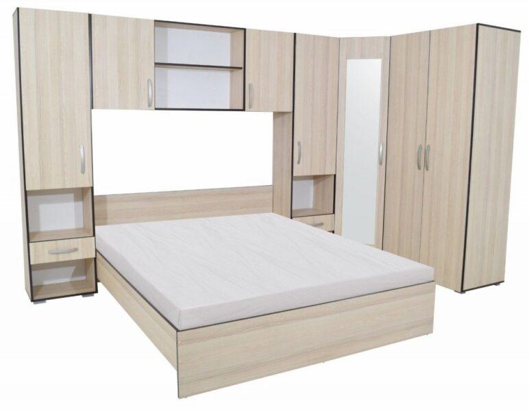Set Dormitor Madrid Ulm Deschis Wenge