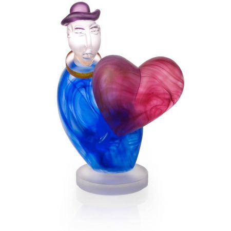 Borowski - Statueta Decorativa, Arta, Mesagerul Dragostei, Albastru