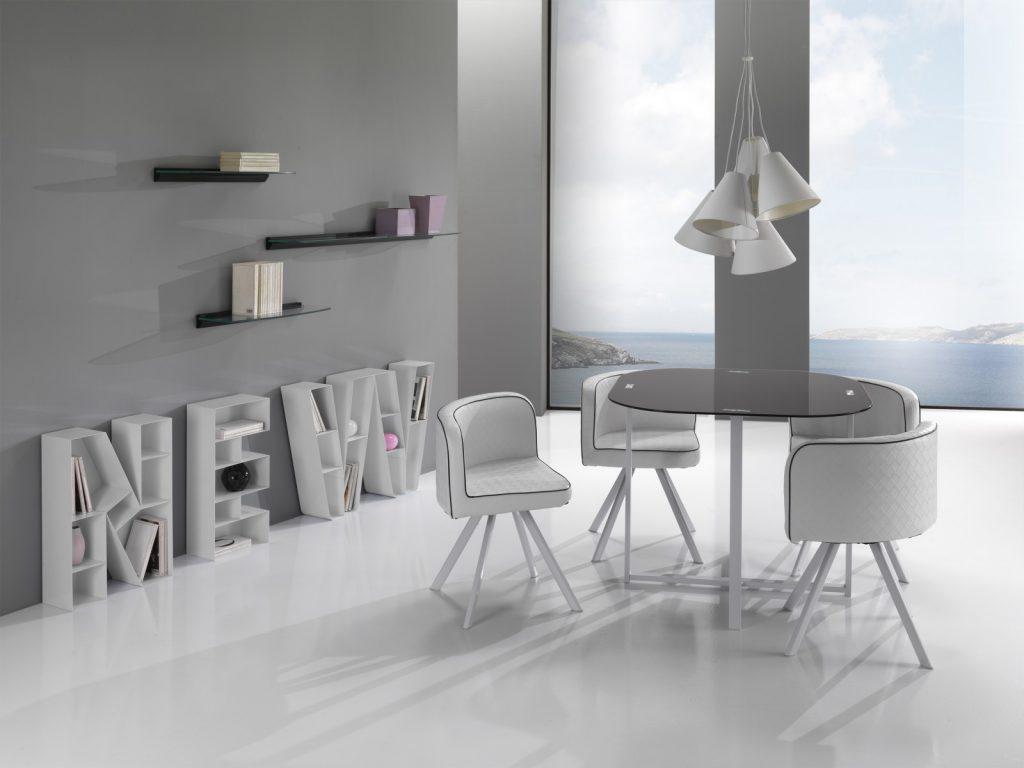 Set masa New + 4 scaune