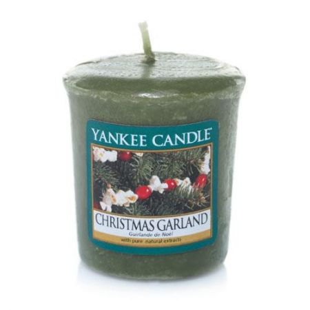 Lumanare Parfumata Votive Christmas Garland, Yankee Candle