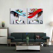 Tablou pictat manual Seasons in Style