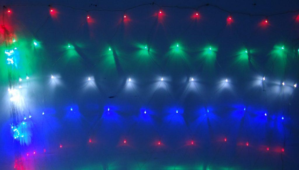 Instalatie Luminoasa de Craciun, tip Plasa
