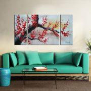 Tablou pictat manual Sakura II