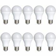 Set 10 Becuri LED Drimus 10W Lumina Calda DL-3100