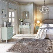 COT101 - Comoda, Dulap pentru Dormitor cu 5 sertare - Turcoaz/Ou de rata/Verde