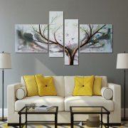 Tablou pictat manual Tree of Life