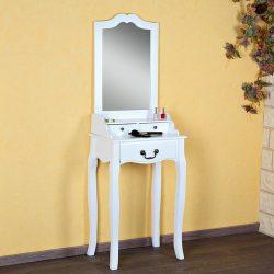 SEA12 - Set Masa alba toaleta cosmetica machiaj oglinda masuta vanity