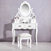 SEA22 - Set Masa alba toaleta cosmetica machiaj oglinda masuta vanity