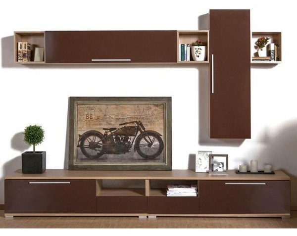 Biblioteca Mocca Linea Mobexpert Outlet