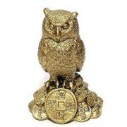Bufnita Feng Shui pe monede