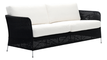 Canapea din rattan Orion Black