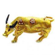 Casetuta de bijuterii - bivol norocos