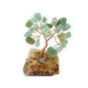 Copacel cu aventurin pe suport de piatra
