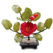 Copacel norocos cu floare de bujor