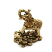 Elefant cu ru yi si monede