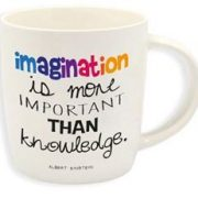 Cana Imagination is more important... | Legami