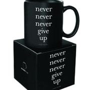 Cana - Never Give Up | Quotable Cards