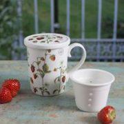 Cana cu infuzor - Strawberry Gardeners | Creative Tops
