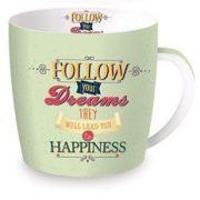 Cana de portelan in cutie cadou - Follow your dreams | Nuova R2S