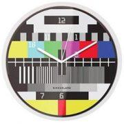 Ceas de perete - Test Screen | Kikkerland