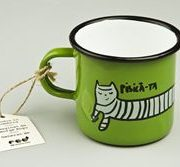 Ceasca email George Rosu - Pisica-mea, pisica-ta (Verde) | ROD
