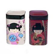 Cutie metalica - Little Geisha - mai multe modele   Eigenart
