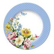 Farfurie - Katie Alice English Garden Blue Spot | Creative Tops