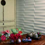 Panouri decorative 3D Jayden, WallArt, 12 placi 50x50cm