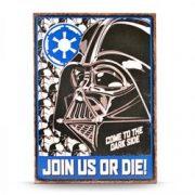 Placuta metalica - Star Wars - Empire | Half Moon Bay