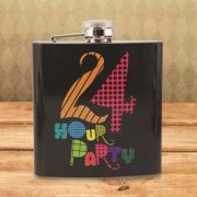 Plosca - 24 Hour Party Hip Flask | 50 Fifty Gifts