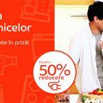 Saptamana electrocasnicelor – REDUCERE de 50%