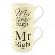 Set 2 cani - Mr and Mrs Always Right | Lesser & Pavey