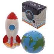 Set Solnite - Space Rocket and Planet Earth | Think Favours