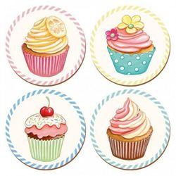Suport pahar - Retro Treats Cupcake | Creative Tops