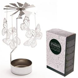 Suport pentru lumanare - Butterfly Light Powered Spinning Decoration   Puckator