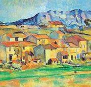 Suport pentru masa - Paul Cezanne ''Sainte Victoire''   Cartexpo