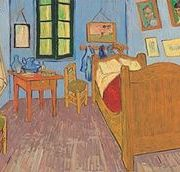 Suport pentru masa - Van Gogh ''La Chambre a Coucher'' | Cartexpo