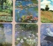 Suport pentru pahar - Claude Monet - mai multe modele | Cartexpo