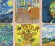 Suport pentru pahar - Van Gogh - mai multe modele | Cartexpo