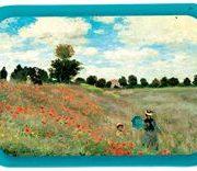 Tava metalica - Claude Monet - Les Coquelicots   Cartexpo