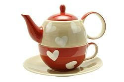 Tea for One cu farfurie - Carazon | Dethelefsen&Balk