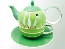 Tea for One cu farfurie - Lilou | Dethlefsen&Balk