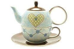 Tea for One cu farfurie - Mabee | Dethelefsen&Balk