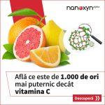 Nanoxyn Alpha este de 1000 de ori mai puternic decat vitamina C