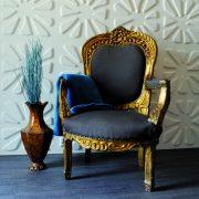 Panouri decorative 3D Caryotas, WallArt, 12 placi 50x50cm