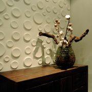 Panouri decorative 3D Craters, WallArt, 12 placi 50x50cm