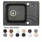 Chiuveta bucatarie granit compozit anticalcar 1 cuva si un picurator mic DATO