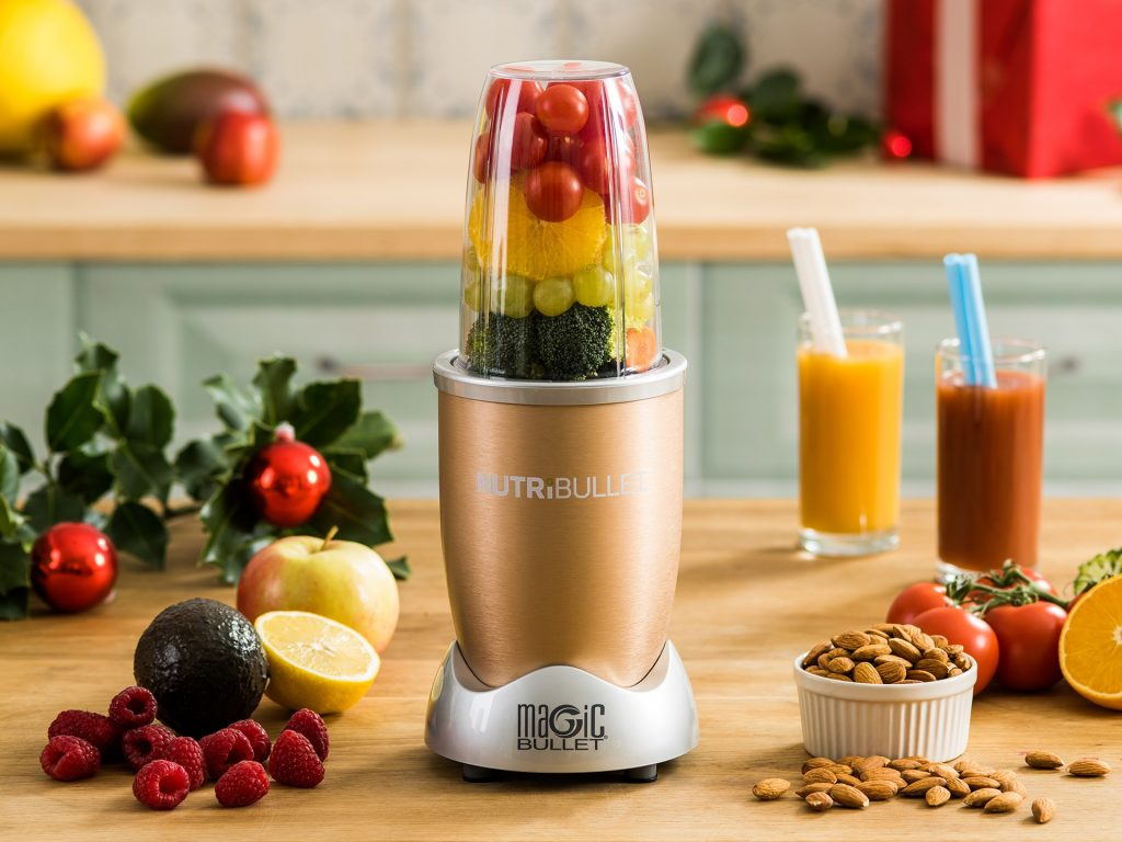 Nutribullet Gold, 600W, 20.000RPM, 5piese Delimano