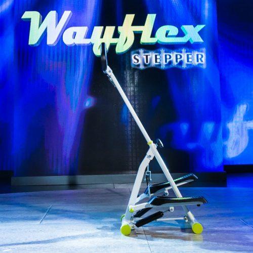 Wayflex Folding Stepper - Stepper pliabil, cu manere si corzi